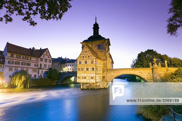 Germany  Bamberg  old city hall