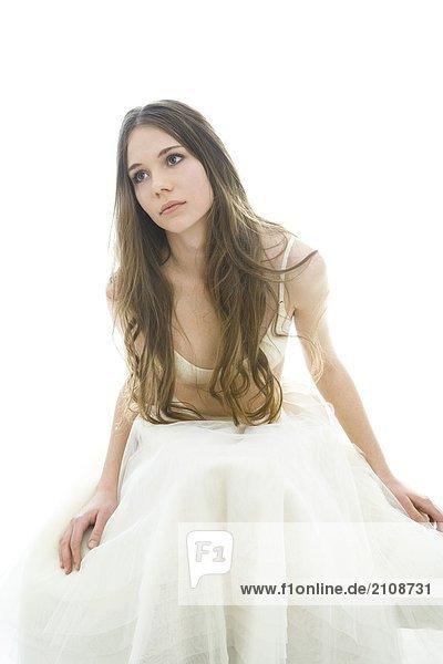 schönheit weiblich weiß