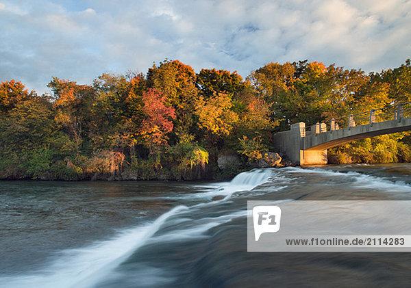 The Niagara River - Niagara Falls State Park USA