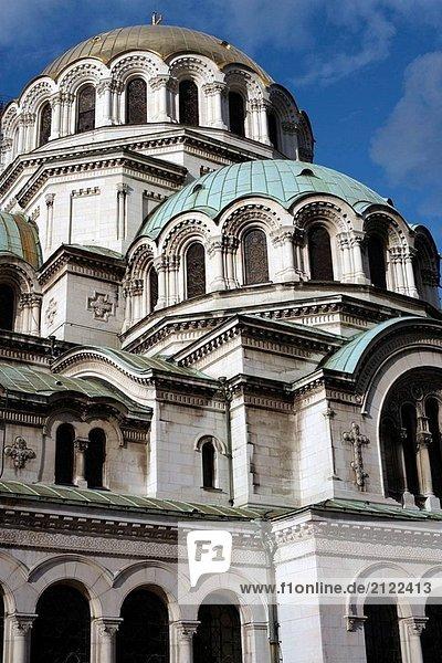Sofia Hauptstadt Kathedrale Osteuropa Bulgarien