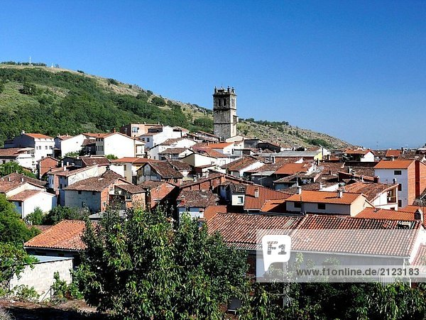 Garganta la Olla. Caceres province  Extremadura  Spain