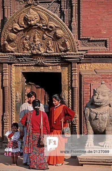 Palast Schloß Schlösser Durbar Square Nepal Patan
