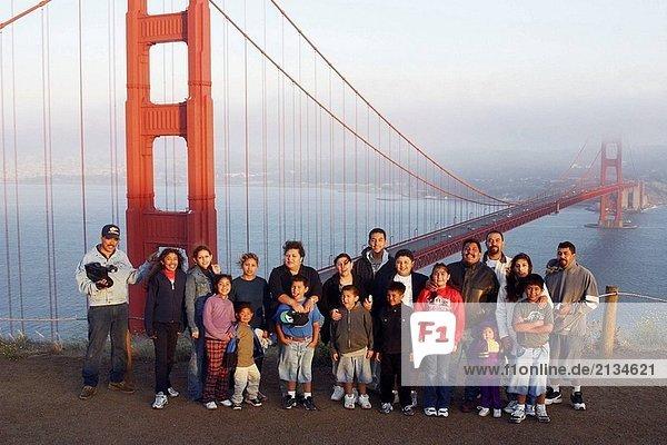 Vereinigte Staaten von Amerika USA Golden Gate Bridge