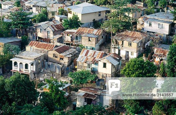 Vorort von Canterbury. Montego Bay. Jamaika (Karibik)
