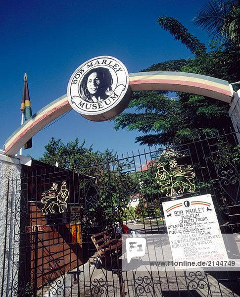 Bob Marley Museum. Kinsgton. Jamaika