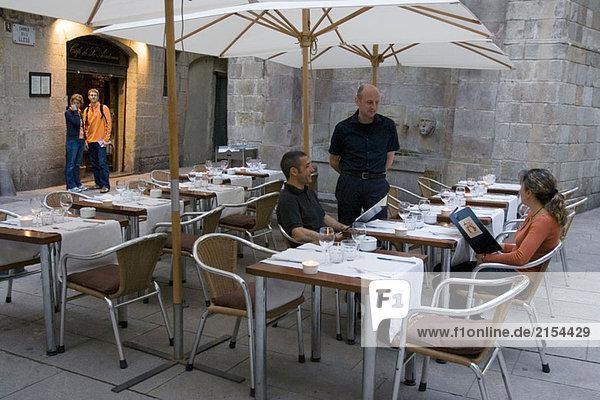 Café de L´Academia  Barcelona  Spanien