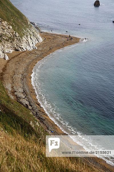 Durdle Door an der Jurassic-Küste im Süden von England  UK