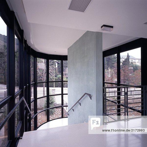 Glas Wohnhaus