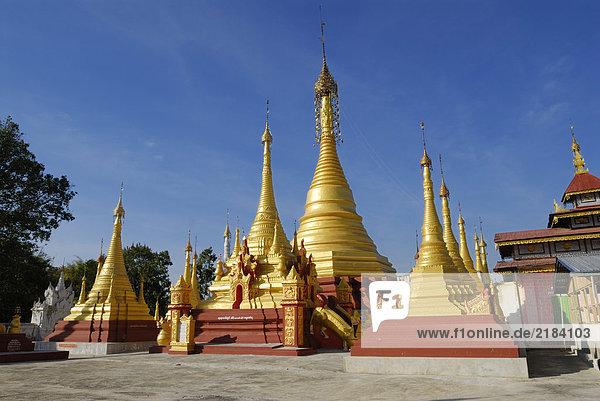 Myanmar Kloster Shan Staat
