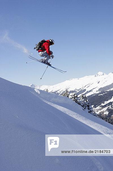 Österreich  Saalbach  Skisprungschanze für Männer