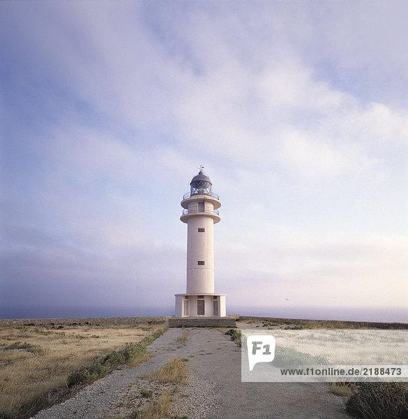 Ein Leuchtturm in Spanien. Ein Leuchtturm in Spanien.