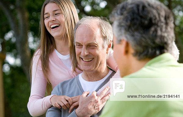 Alte Leute,Ausgelassenheit,Aussen,Begeisterung,CD369057