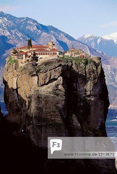 Hagia Triada Kloster  Meteora. Thessalien Hagia Triada Kloster, Meteora. Thessalien