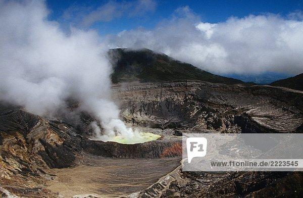 Poas Vulkan in Costa Rica Poas Vulkan in Costa Rica