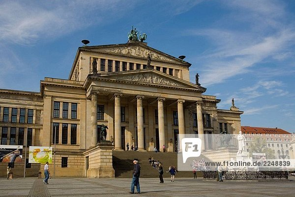 Konzerthaus  Berlin  Hauptstadt  Konzertsaal  Deutschland
