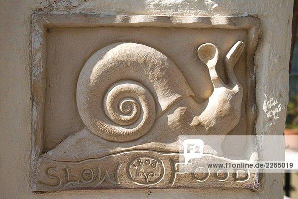Griechenland. Kykladen. Santorini. Oia. Slow Food.