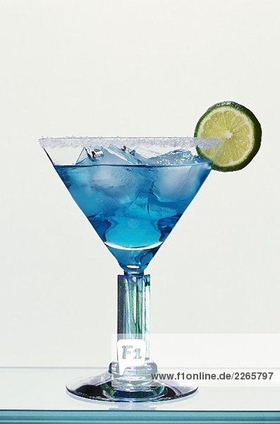 Blue Margarita (Drink mit Tequila und Blue Curacao) Blue Margarita (Drink mit Tequila und Blue Curacao)