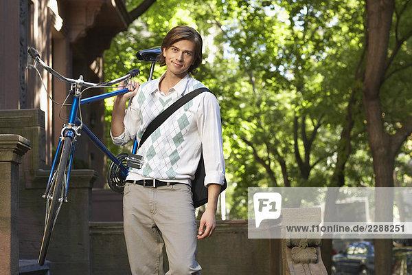 Radfahren pendeln