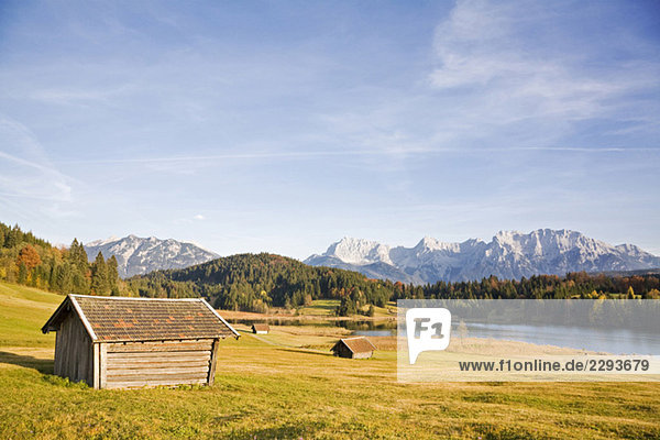 Deutschland  Bayern  Karwendelgebirge  Landschaft