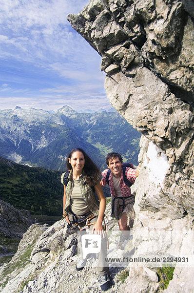 Österreich  Salzburger Land  Paarwanderungen