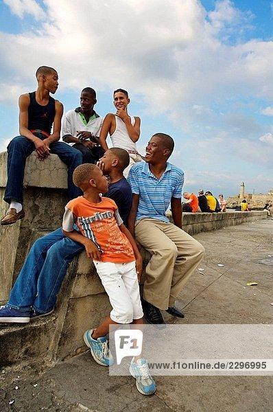 El Malecón. Havana  Cuba