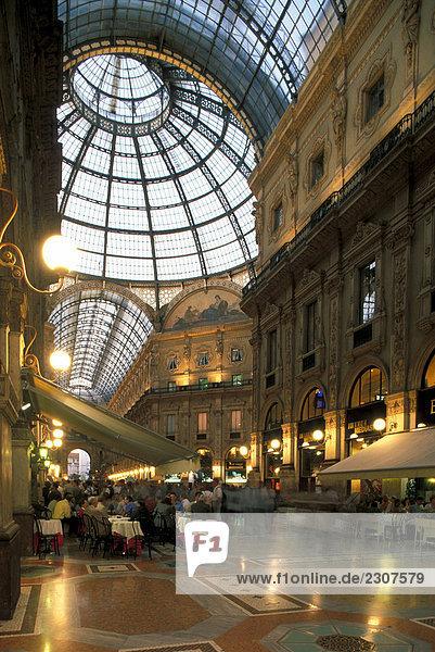 Lombardei  MIlan  Galleria Vittorio Emanuele