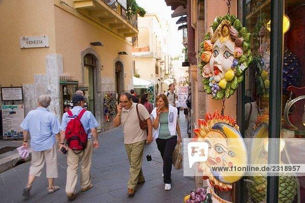 Taormina. Sizilien  Italien