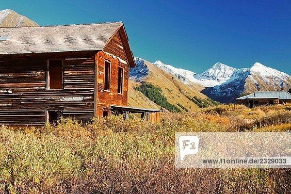 Vereinigte Staaten von Amerika USA Colorado Silverton Vereinigte Staaten von Amerika,USA,Colorado,Silverton
