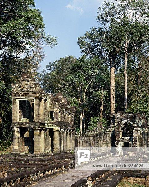 Kambodscha  Ruinen Angkor  Preah Khan  Tempel