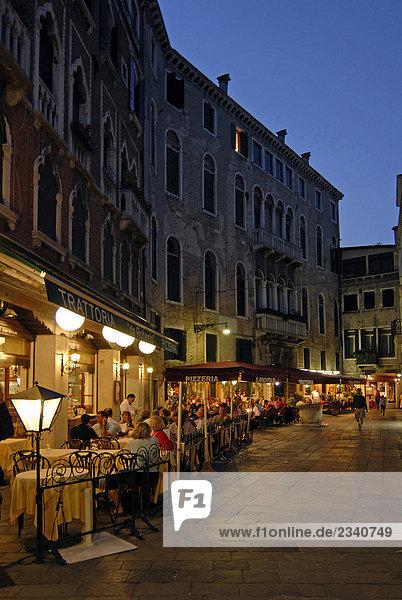 Italien  Veneto  Venedig  restaurants
