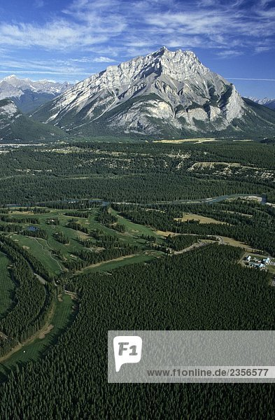Cascade Berg Kanadas  Rocky Mountains  Banff-Nationalpark  Alberta Cascade Berg Kanadas, Rocky Mountains, Banff-Nationalpark, Alberta