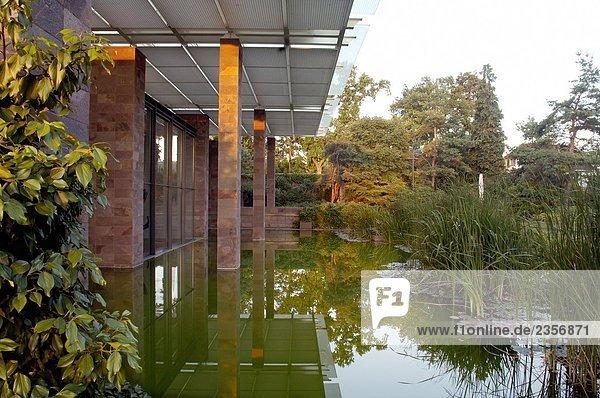 Schweiz  Basel  Fondation Beyeler  Architektur von Renzo Piano Schweiz, Basel, Fondation Beyeler, Architektur von Renzo Piano