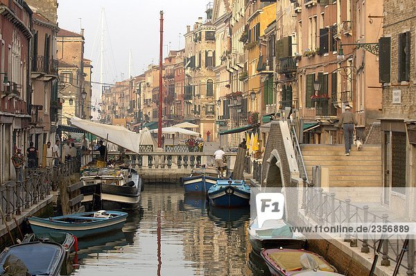 Brücke Venetien Castello Italien