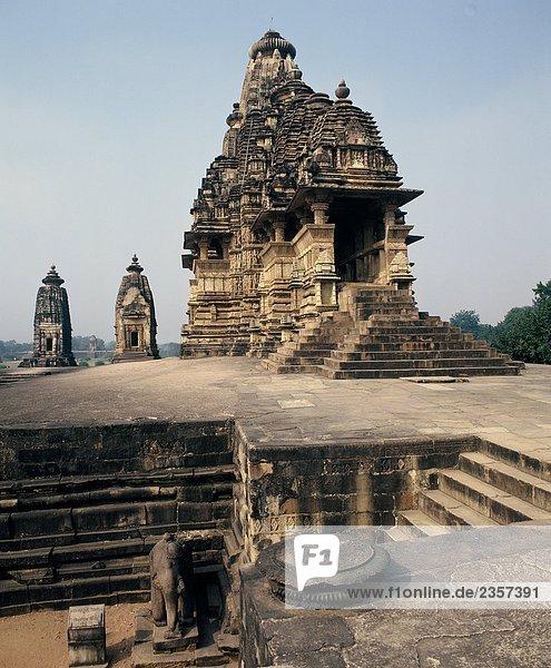 Indien  Mahdia Pradesh  Kajurao. Lakhsmana Tempel Chandella Dinasty