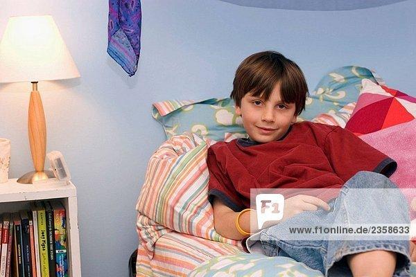 10 year old boy