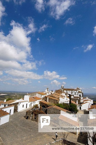 Monsaraz  fortified medieval village. Alto Alentejo  Portugal