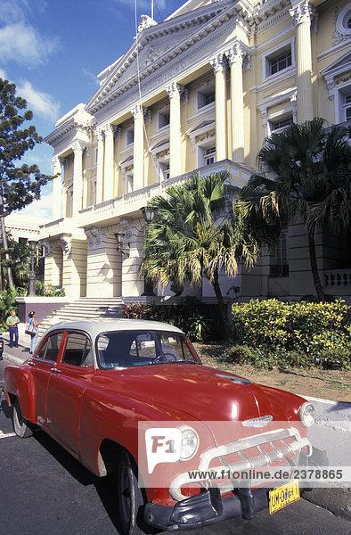 Auto Straße Kuba