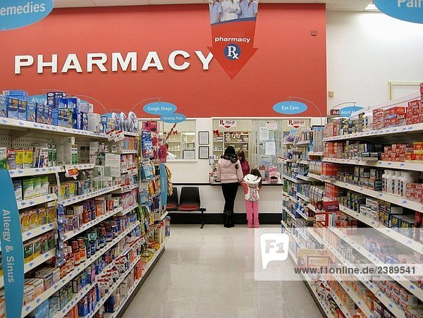 Over the counter drugs and pharmacy