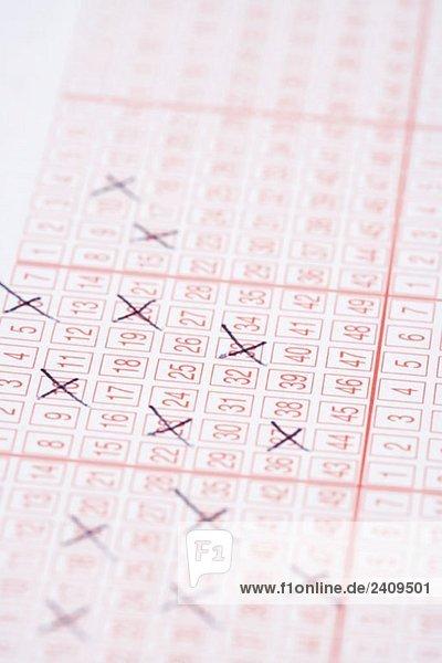 Ein Lotterielos