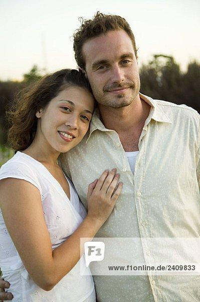 Porträt eines Paares  Buenos Aires  Argentinien