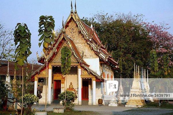 Thailand  Phetchaburi  Wat Lat buddhistischer Tempel