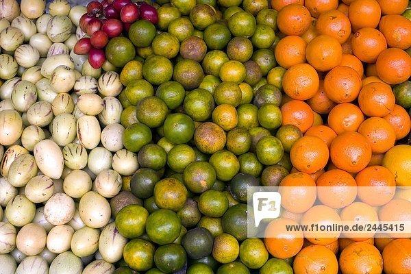 Nahaufnahme der Früchte am Markt  Malaysia