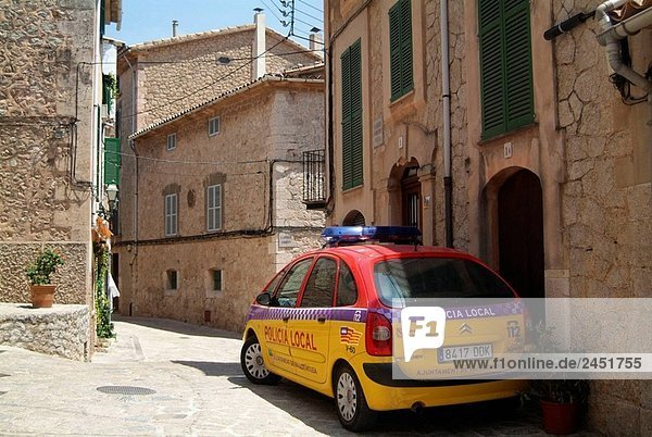 Auto Straße Mallorca Polizei Spanien
