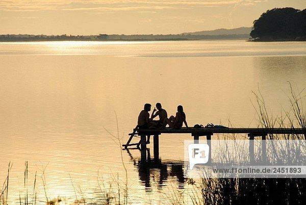 Lake Peten Itza  Guatemala
