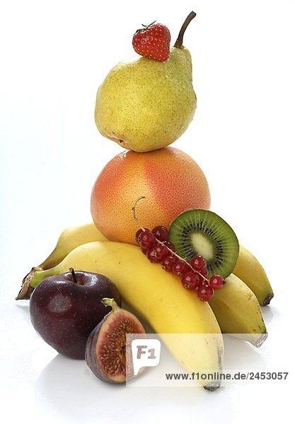 Verschiedene Sorten Obst