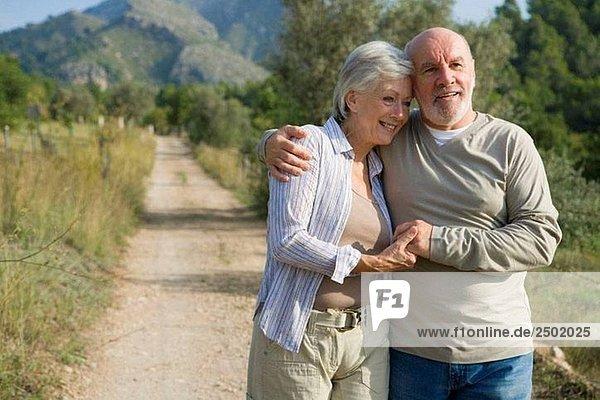 Alte Leute,Aussen,Einheit,Emotion,Erwachsene