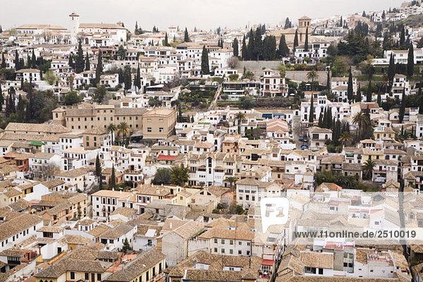 Spanien  Andalusien  Granada  Stadtbild