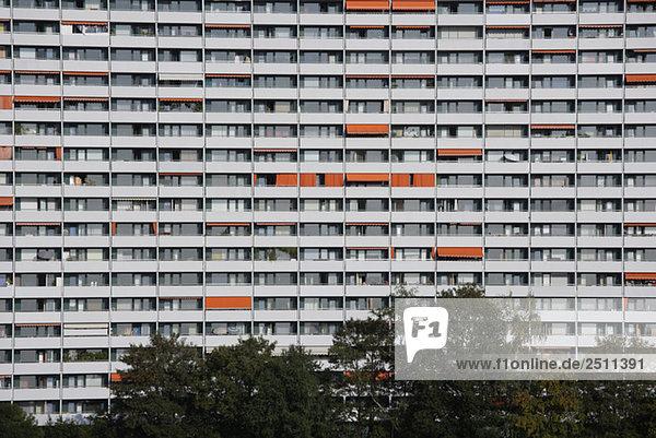 Germany  Bavaria  Munich  Large Apartment Building
