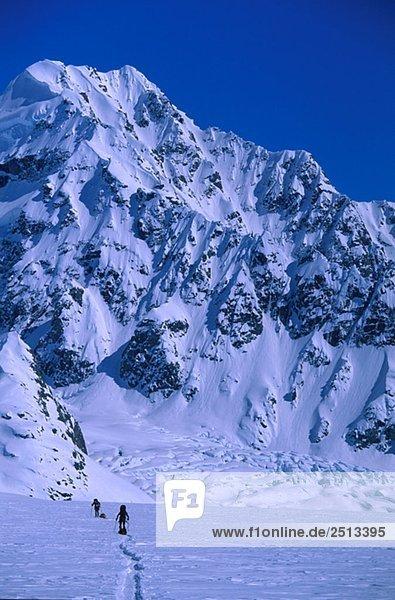 Mountaineering  St. Elias Mountains  Yukon  Canada