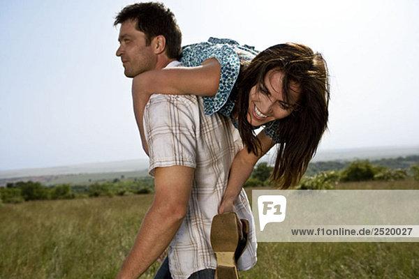 Mann mit Frau